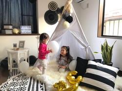Black&White Kids Birthday