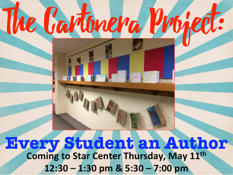 The Cartonera Project 2017: Every Student IS an Author