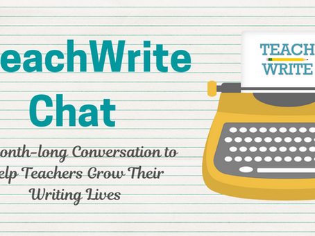 The #TeachWrite Chat is Moving!