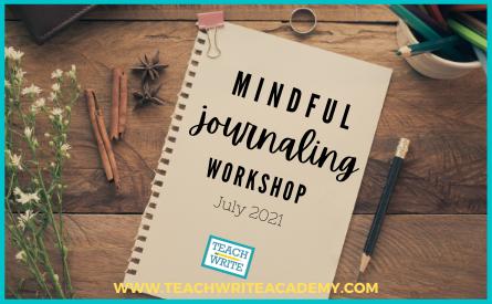 Mindful Journaling Workshop Image