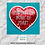 Thumbnail: Writing is a Work of Heart Sticker