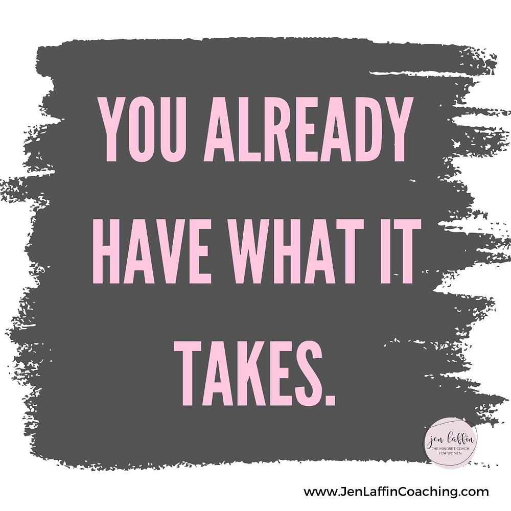 Quote: You already have what it takes