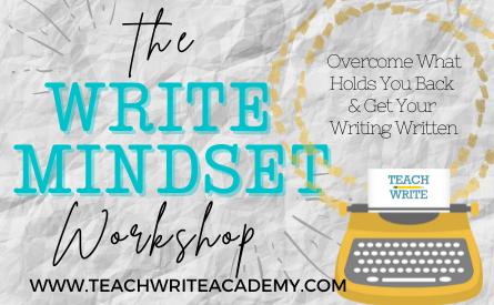 the write mindset workshop image