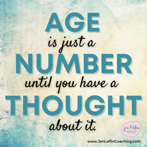Age is Just a Number {Positive Thinking Thursday 6.17.21}