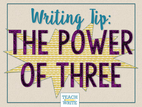 Balance Your Writing with The Power of Three