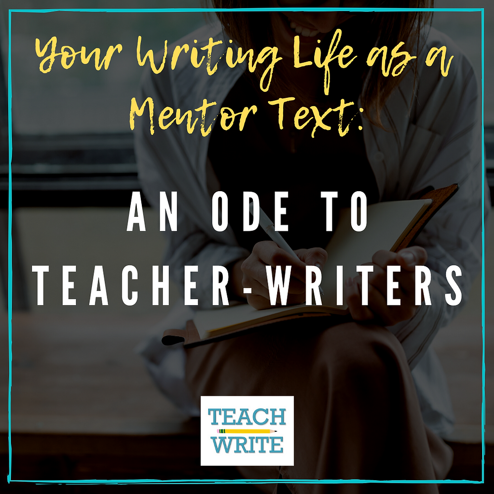 An Ode to Teacher-Writers post image