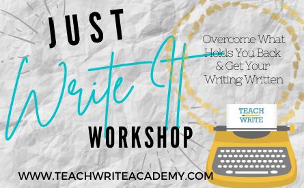 Just write it workshop image