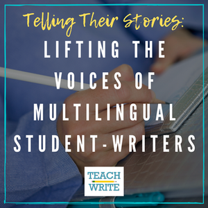 lifting the voices of multilingual student-writers logo