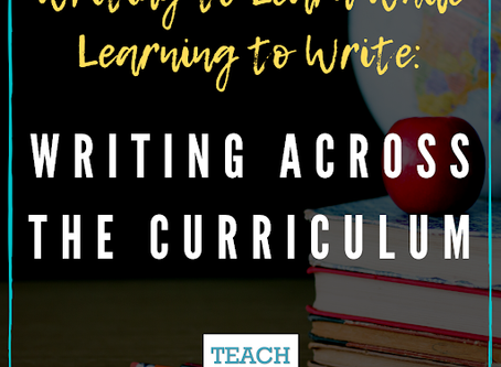 Ideas for Writing Across the Curriculum by Karen Megay-Nespoli