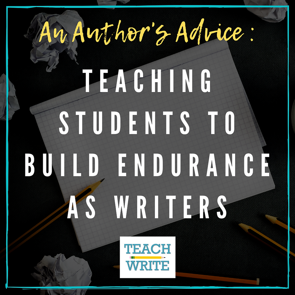 building endurance as writers image
