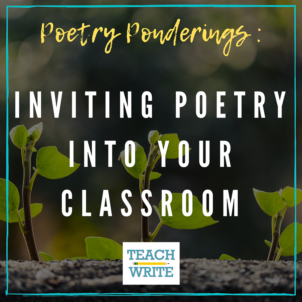 Inviting poetry into your classroom image