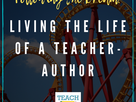 Living the Life of a Teacher-Author by Shannon Anderson