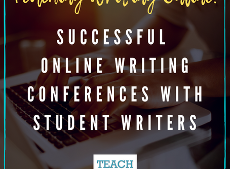 Successful Online Writing Conferences with Student Writers by Dana Clark