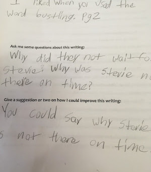 A Powerful Lesson: My Students Critique MY Writing