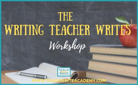 The Writing Teacher Writes Workshop image