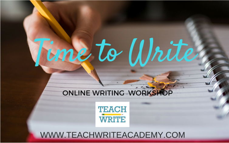 Teach Write Time to Write logo