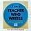 """Thumbnail: Teacher Who Writes  3"""" Round Sticker"""