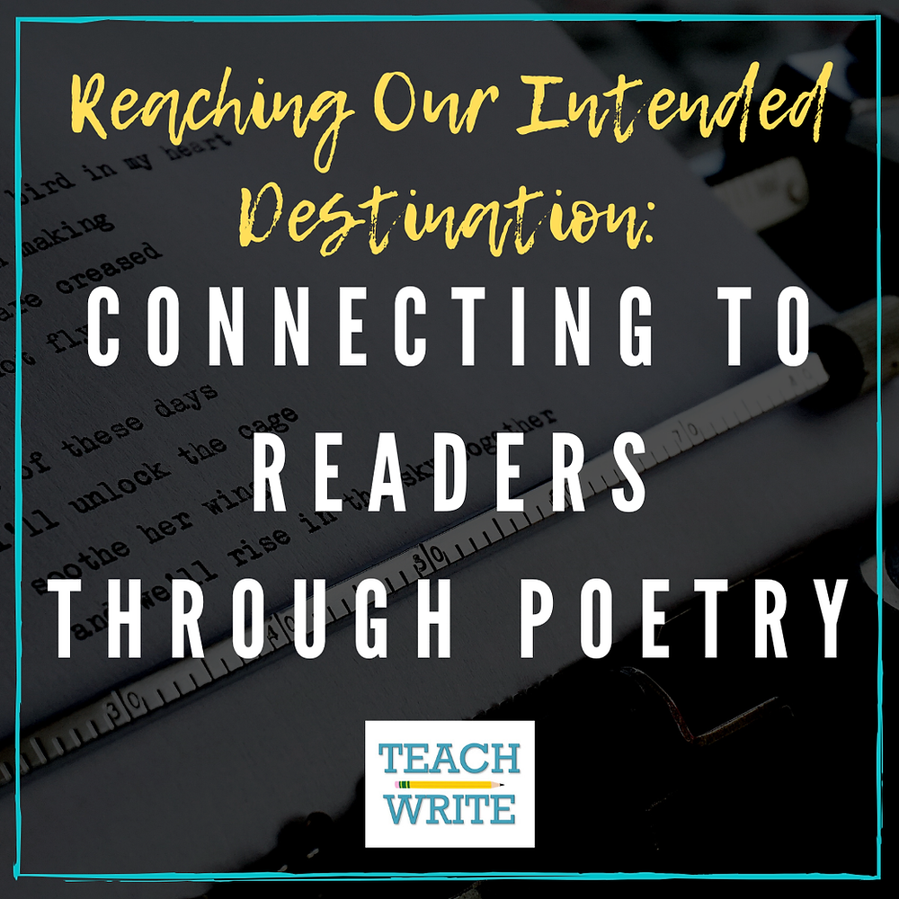 Post Image: Connecting to Readers Through Poetry