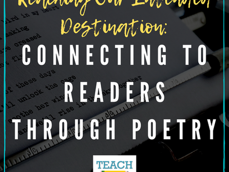 Connecting to Readers Through Poetry by Bridget Magee