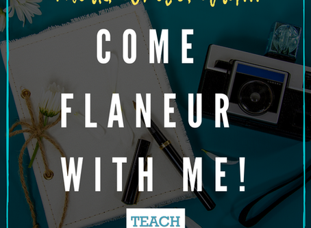 Come Flaneur with Me! by Sue Rounds
