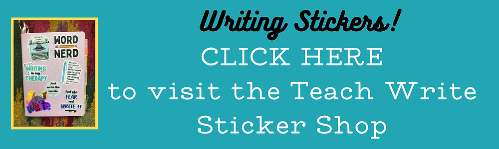 Click button to visit the Teach Write Sticker Shop