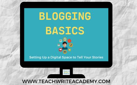 Image for Blogging Basics Workshop