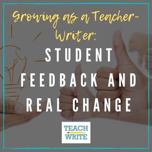 Student Feedback and real change logo