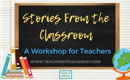 stories from the classroom workshop image
