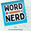 Thumbnail: Word Nerd  Laser Cut Sticker