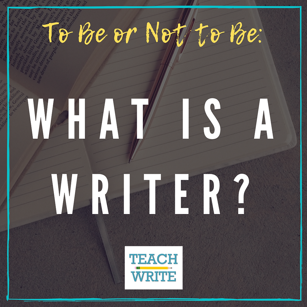 Post logo: What is a Writer?