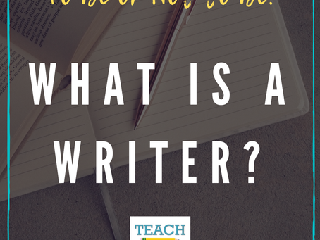 What is a Writer? by Michelle Sheehan