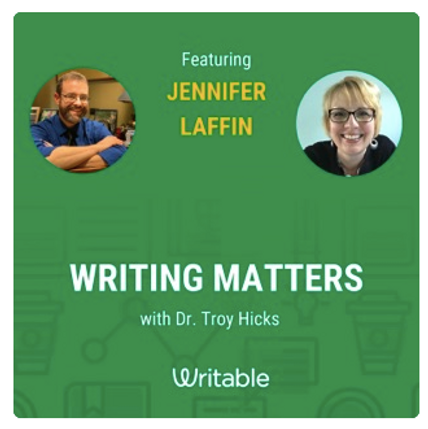 Writing Matters Podcast Image & Link