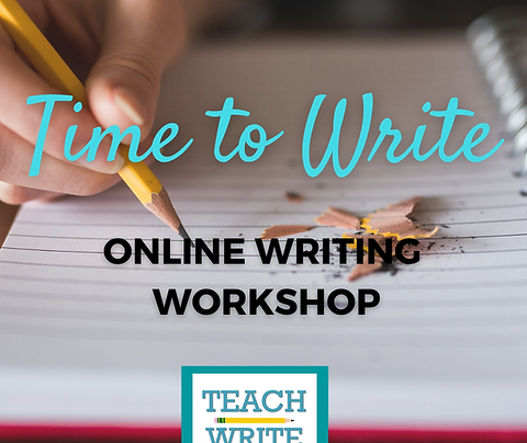 Time to Write Workshop