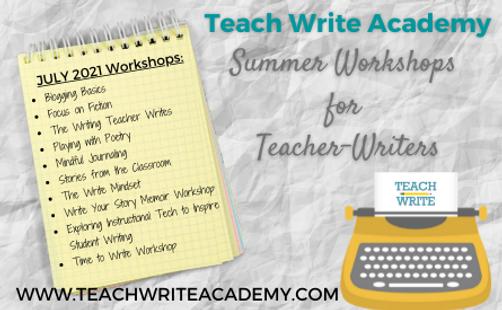 Teach Write Academy Summer workshops 2021.png