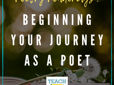 Beginning Your Journey as a Poet by Christie Wyman