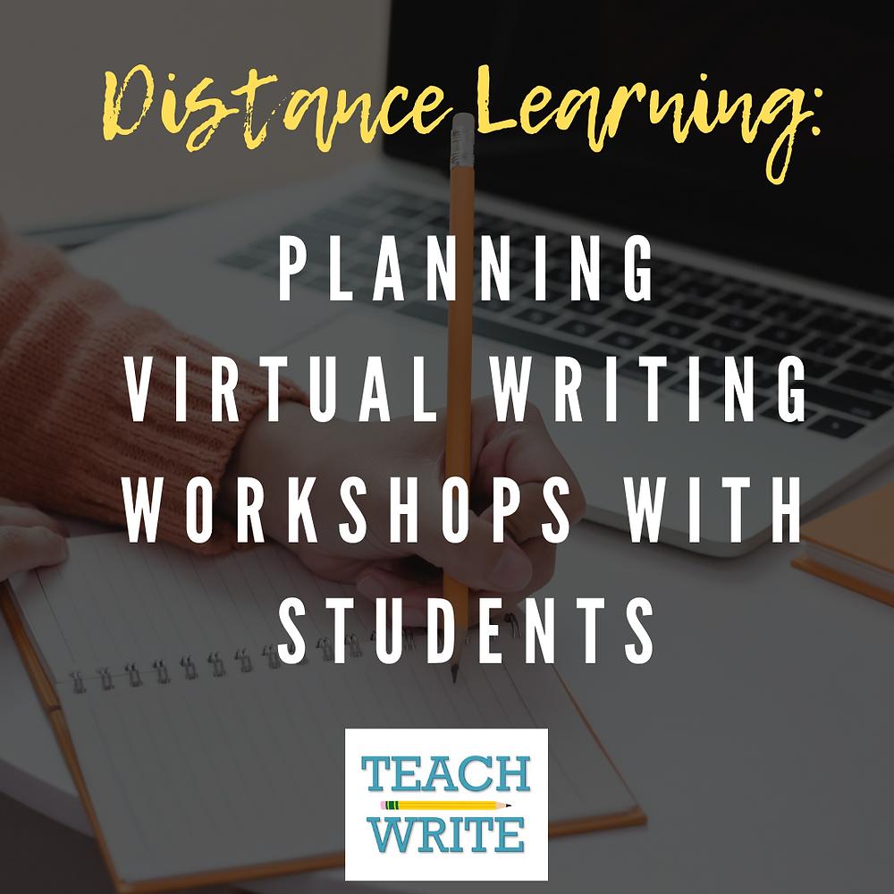 Virtual writing workshops image