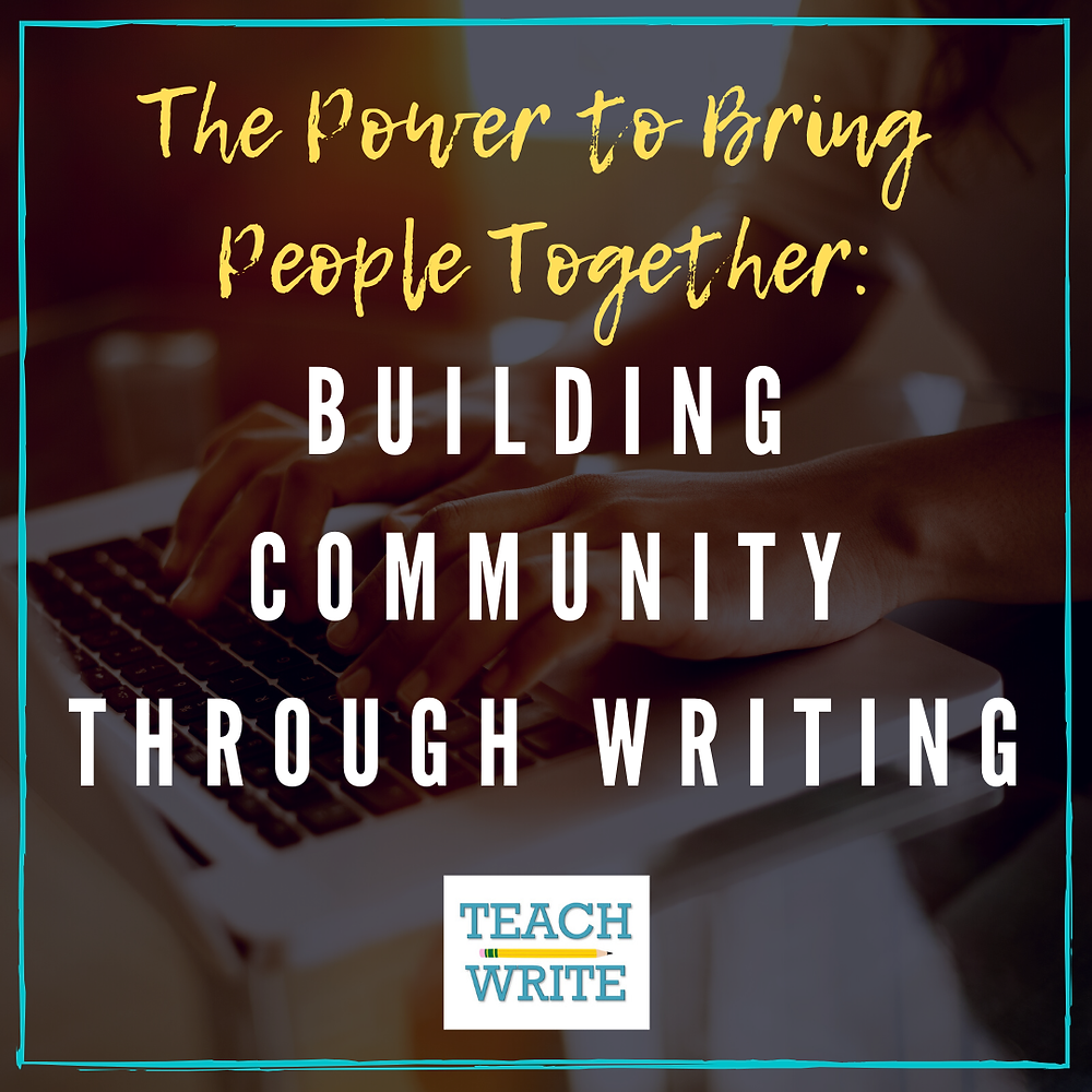 Post image: Building community through writing