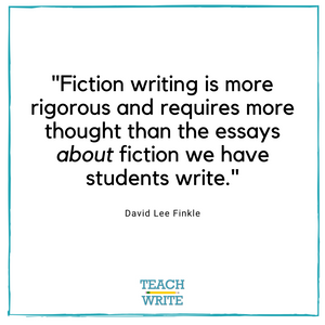 Fiction writing is more rigorous quote slide