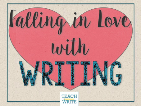 Five Ways to Fall in Love with Writing