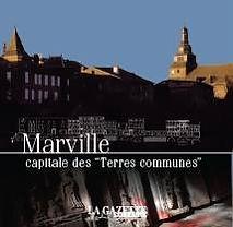 """Couverture du livre Marville capitale des """"Terres communes"""""""