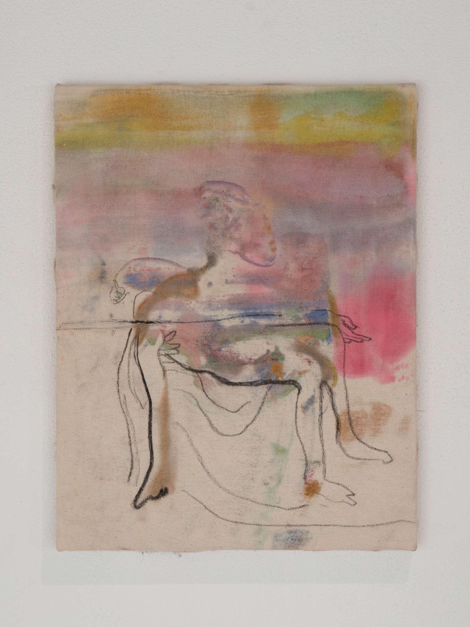 """Study for """"Pietà"""" from Michelangero"""