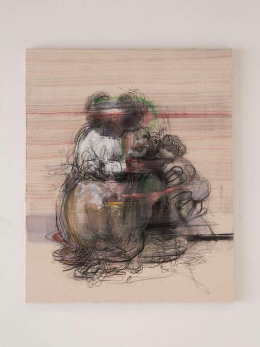 """Study for """"San'tAnna, la madonna, il Bambino e san Giovannino"""" from Leonardo"""