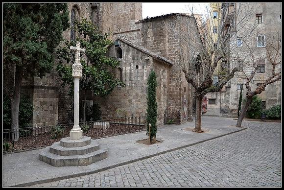 El portal de l'Angel: una vía de acceso medieval