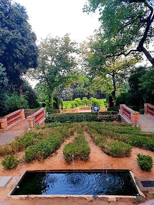 El parque del Laberinto, una finca señorial