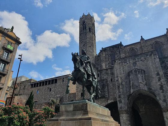 La Barcelona medieval del barrio de la Ribera