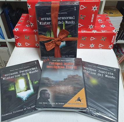 Pack 2: 3 DVD Terrassa y Cataluñap insolita, misteriosa y paranormal