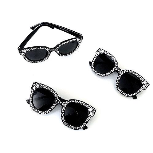 Óculos Estrelas com brilhos
