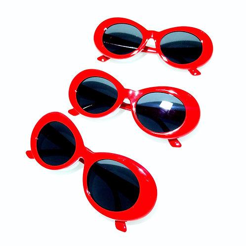 Óculos Kurt Vermelho