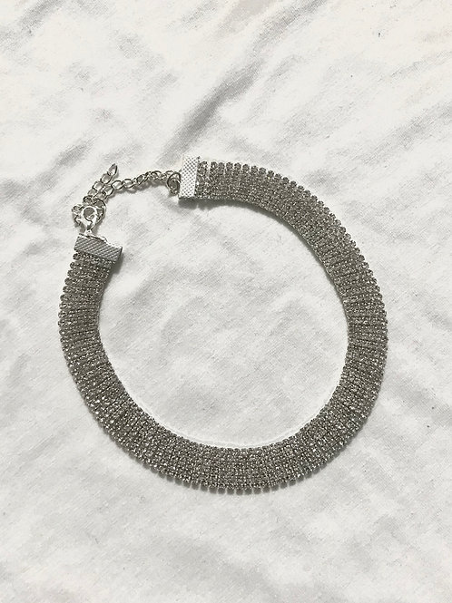 Choker Strass Large