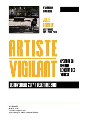 ARTISTE VIGILANT